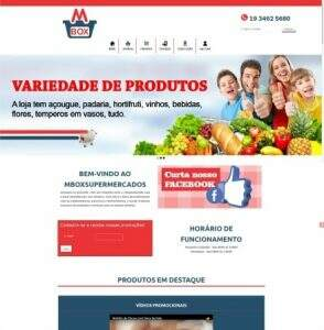 Publicado o novo website do Mbox Supermercados de Americana